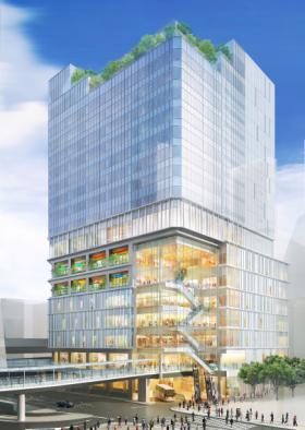 仮称)道玄坂一丁目駅前計画 (東急プラザ建替え)ビルの外観写真