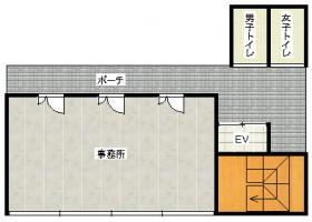 第一飛翔ビル:基準階図面