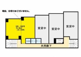 第二愛興ビル:基準階図面