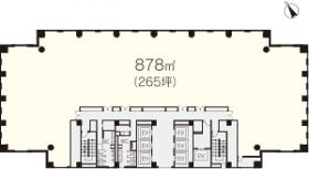 日土地山下町ビル:基準階図面