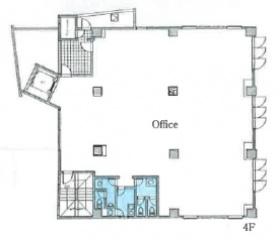 仮称)恵比寿4丁目ビル:基準階図面