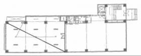 東線亀戸マンションビル:基準階図面