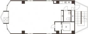 TVB曙橋ビル:基準階図面