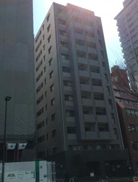 プロミエ秋葉原ビルのエントランス