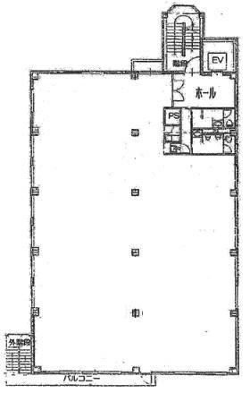 イシカワEMC研究所ビル:基準階図面