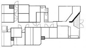 アントレオフィス渋谷:基準階図面