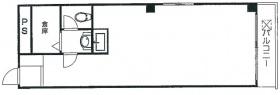 藤和新宿御苑コープ:基準階図面