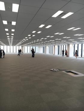 アグリスクエア新宿ビルの内装