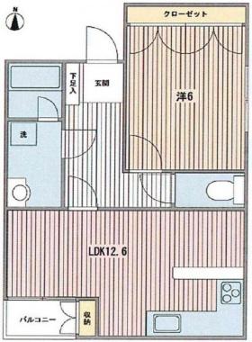 DUKE'S御殿山ビル:基準階図面