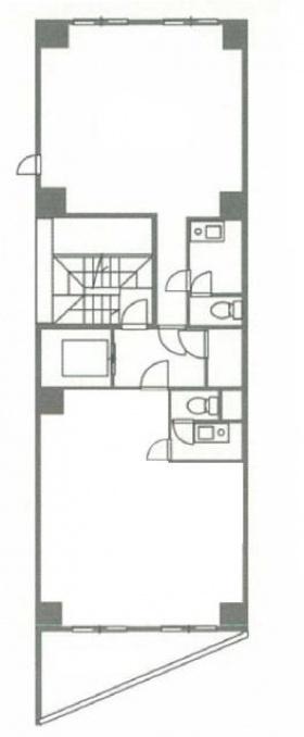 Grado Nishiazabu:基準階図面