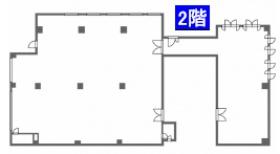 株式会社オー・アール・ディー原宿ビル:基準階図面