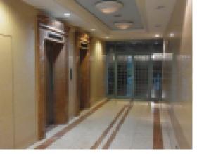 株式会社オー・アール・ディー原宿ビルのエントランス