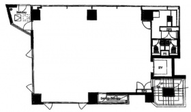 エース九段ビル:基準階図面