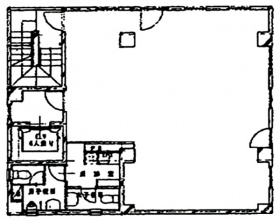 メディアスクエアビル:基準階図面