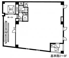 日本橋NSビル:基準階図面