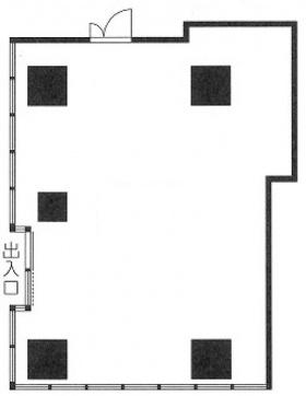 ルジェンテ千代田神保町ビル:基準階図面