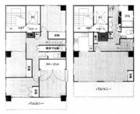 築地フロント(旧:日興企画)ビル:基準階図面