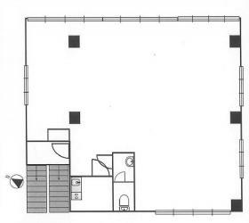 東豊ビル:基準階図面