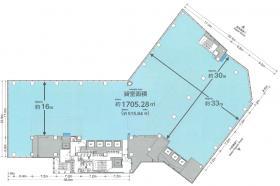 TRI-SEVEN ROPPONGI(トライセブン ロッポンギ):基準階図面