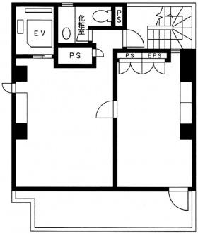 UZビル:基準階図面