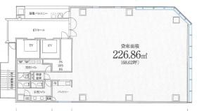 PMO日本橋三越前ビル:基準階図面