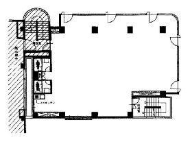 スクエア初台第2ビル:基準階図面