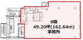 いちご渋谷宇田川町(渋谷BLUE)ビル:基準階図面