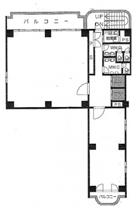 第1野村ビル:基準階図面