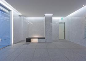 JPR千駄ヶ谷ビルのエントランス