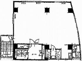 大伸第1ビル:基準階図面