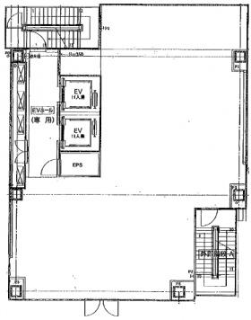 GINZA8ビル:基準階図面