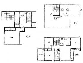六番町ハウスビル:基準階図面