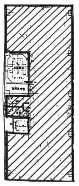 コマツローリエビル:基準階図面