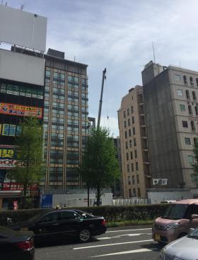 新JA東京南新宿ビルのエントランス