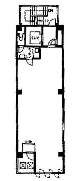 大竹ビル:基準階図面