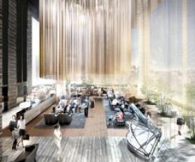 (仮)ヒューリック有楽町二丁目開発計画ビルのエントランス