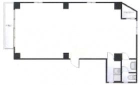 アポロ池袋:基準階図面