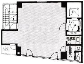 ニューセンチュリービル:基準階図面