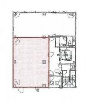 OSセンター南ビル:基準階図面