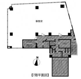 京王聖蹟桜ヶ丘東口ビル:基準階図面