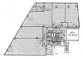 MZビル:基準階図面