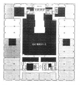 QVCスクエア:基準階図面