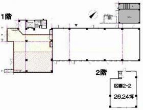豊栄ビル:基準階図面