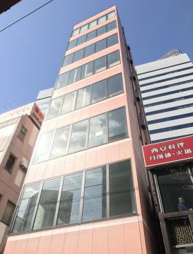有楽町金田ビルのエントランス
