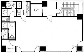 日本橋兜町ファースト(旧第一ビル)ビル:基準階図面