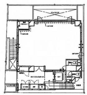 紀文第二ビル:基準階図面