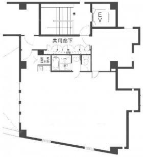 アートコンプレックスセンター:基準階図面