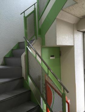 ヒグチ四谷ビルの内装