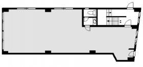 ヒグチ四谷ビル:基準階図面