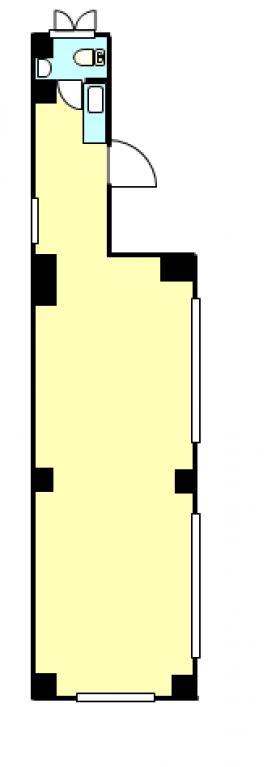 赤羽KMビル:基準階図面